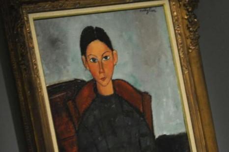 Giulia Madonna e la sua Amata tela