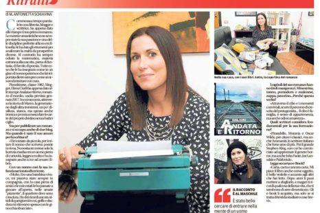 Andata e ritorno, esordio della blogger Elena Ciurli