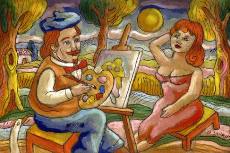 Mini, storia di un pittore di Franco Rizzi