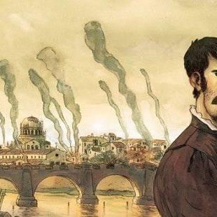 Una graphic novel su Benvenuto Cellini