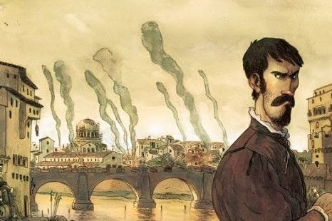 Una graphic novel su Benvenuto Cellini