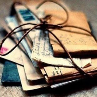 """""""…scrivimi!"""": storia di un amore"""