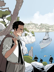 Serge Coste, protagonista della graphic novel
