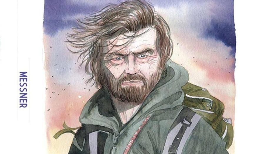 La vita di Reinhold Messner in un fumetto