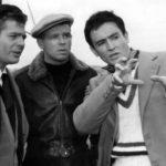 Marcello Mastroianni, Renato Salvatori and Vittorio Gassmann in I Soliti Ignoti