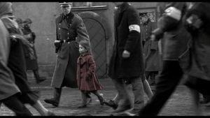Una scena del fim Schindler's List