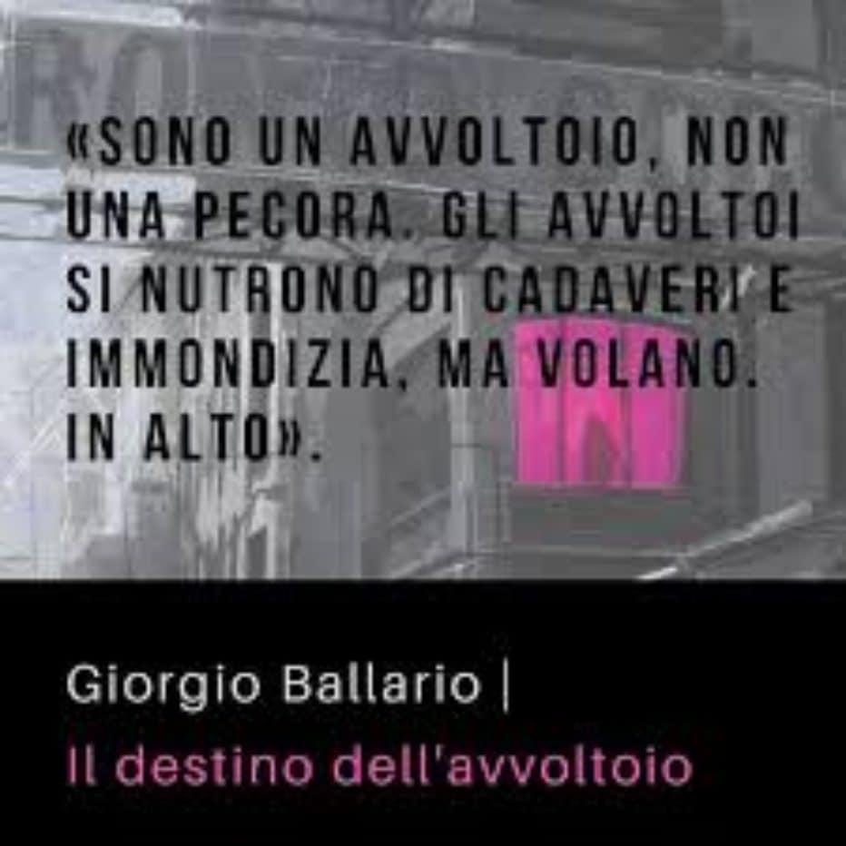 Intervista allo scrittore Giorgio Ballario