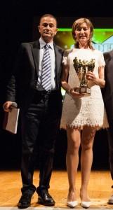 Dianora Tinti Premiazione Golden Woman