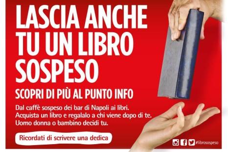 Lascia anche tu un libro sospeso….