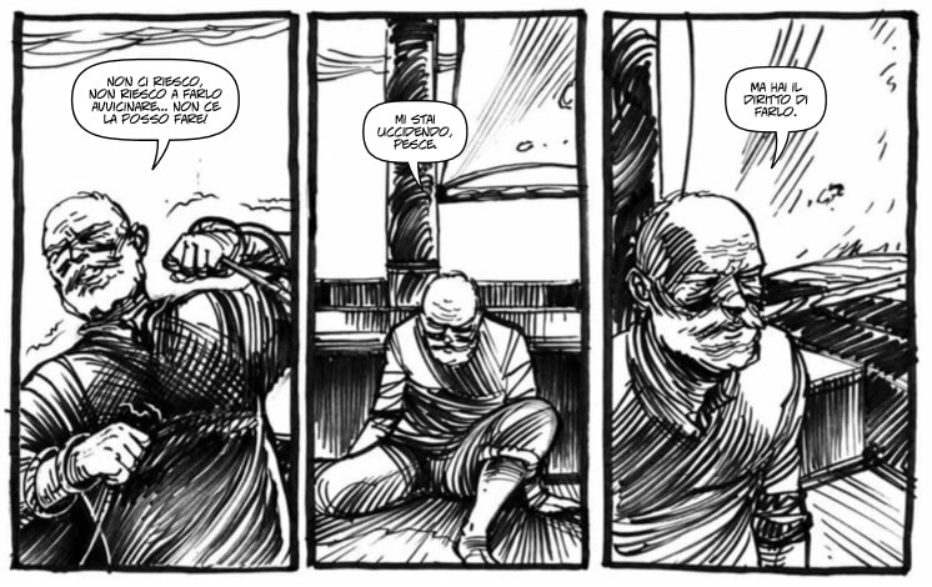 Il vecchio e il mare diventa un fumetto