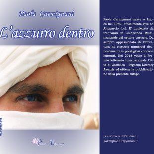 L'azzurro dentro, poesie di Paola Carmiganani