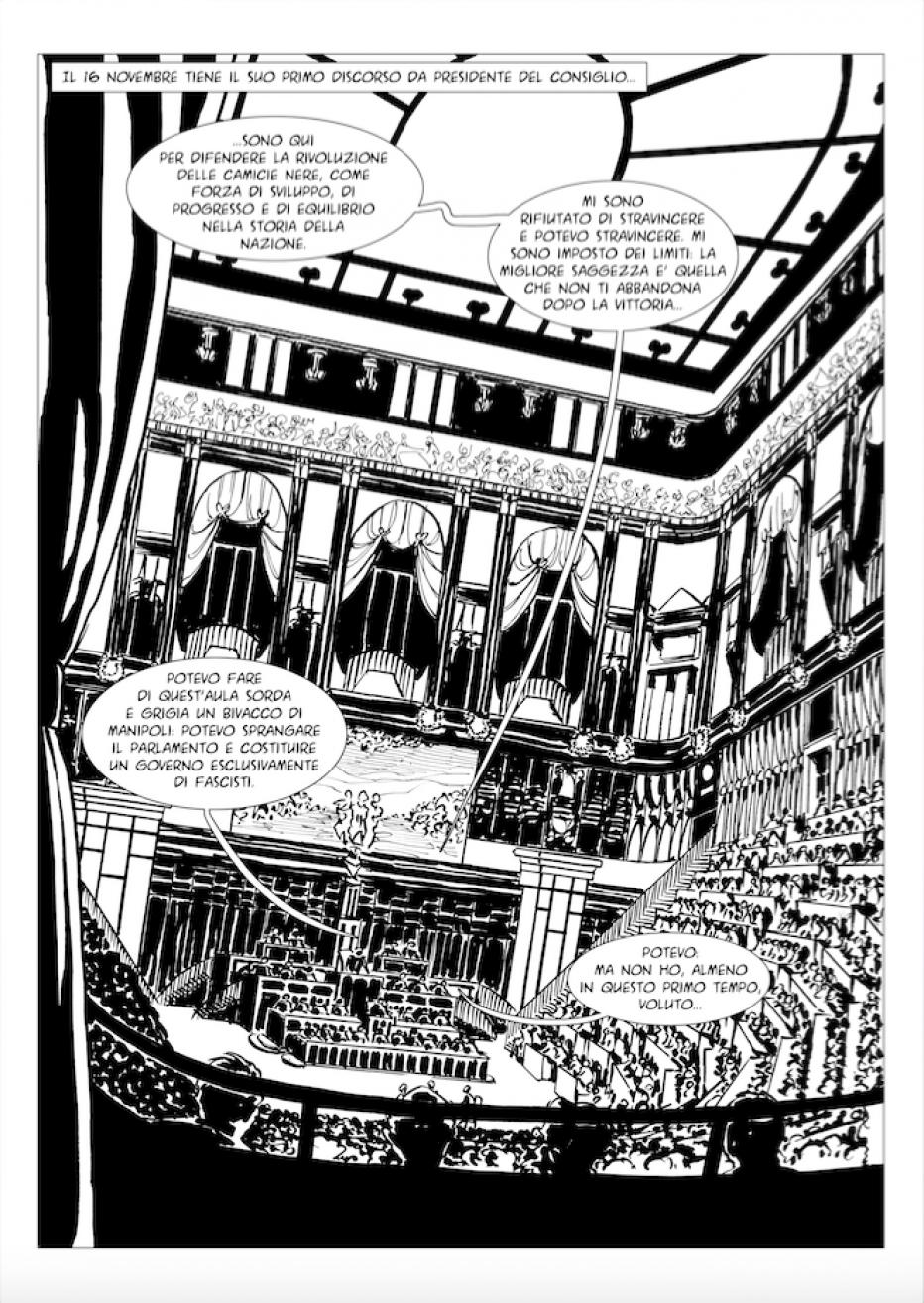 Parla l'illustratore della graphic novel Il delitto Matteotti