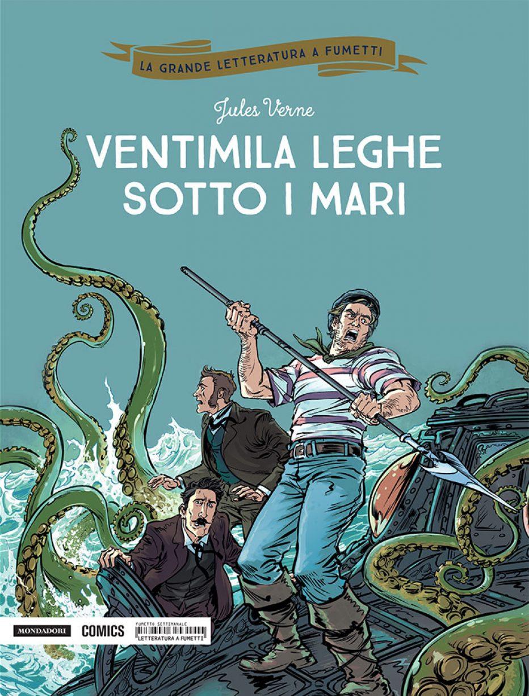 Ventimila leghe sotto i mari diventa un fumetto