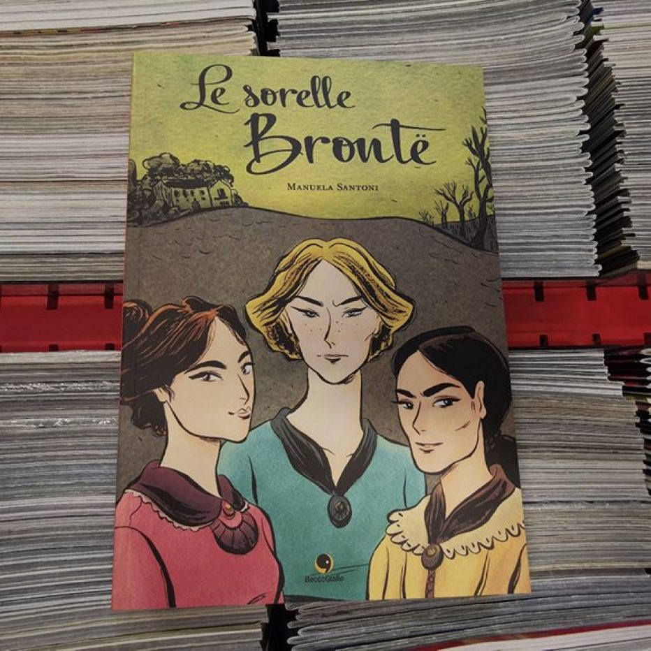 Le sorelle Bronte in una graphic novel