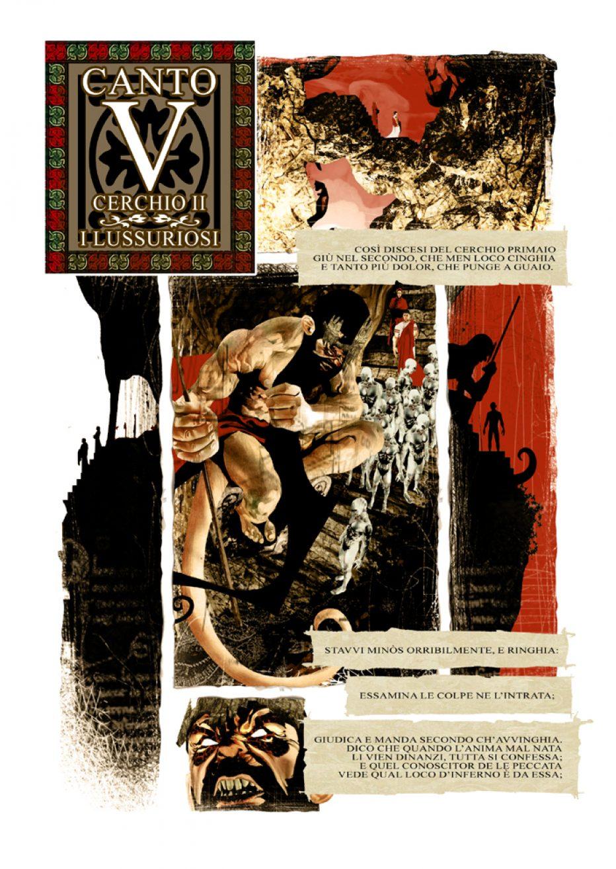 L'inferno di Dante, intervista all'illustratore
