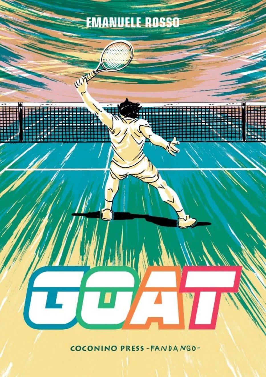 """""""GOAT"""" la graphic novel realizzata da Emanuele Rosso"""
