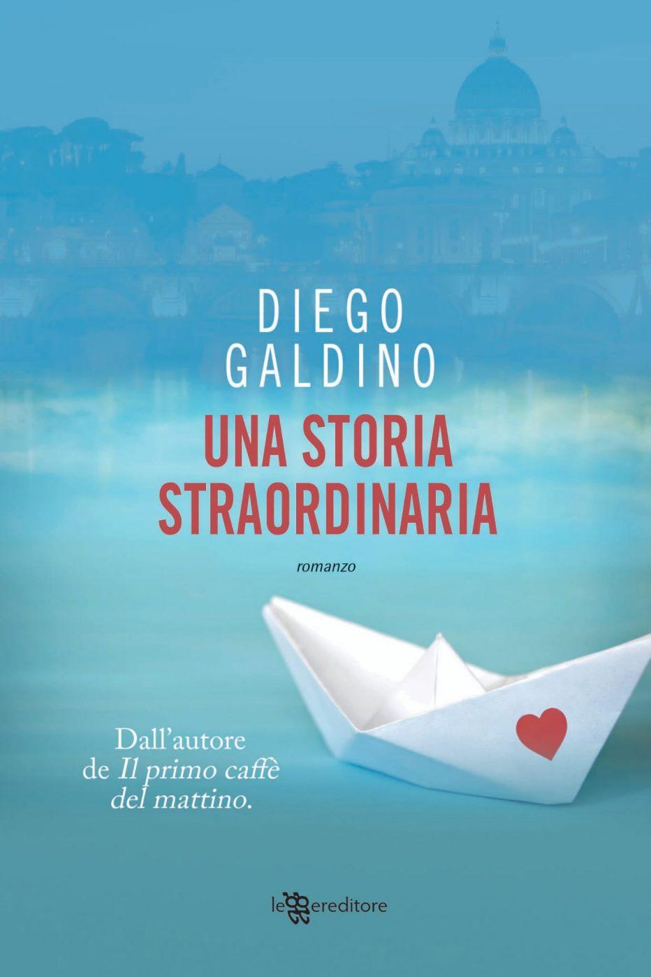 """""""Una storia straordinaria"""", l'ennesimo successo di Diego Galdino"""