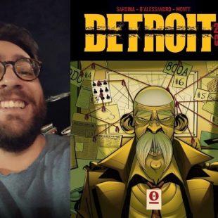 """Michele Monte e il fumetto """"Detroit 23/5"""""""