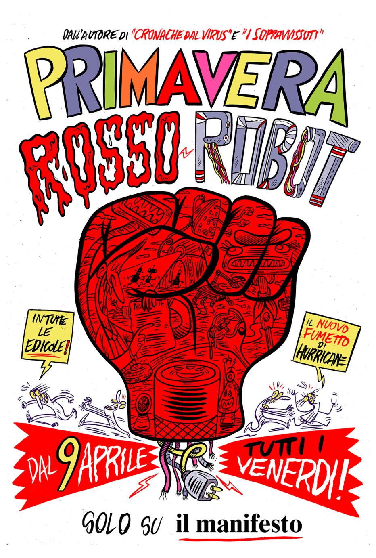 """""""Primavera Rosso Robot"""": parla Hurricane"""